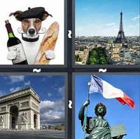 4 Pics 1 Word France
