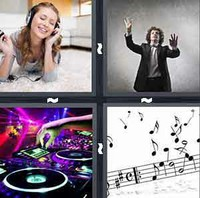 4 Pics 1 Word Music