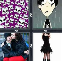 4 Pics 1 Word Emo