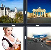 4 Pics 1 Word Germany