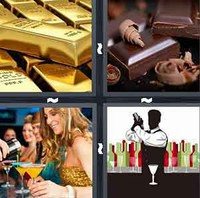 4 Pics 1 Word Bar