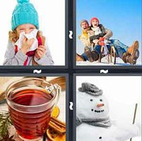 4 Pics 1 Word Winter