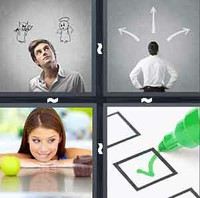 4 Pics 1 Word Choice