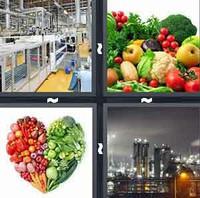 4 Pics 1 Word Produce