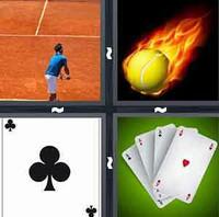 4 Pics 1 Word Ace