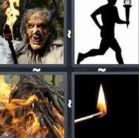 4 Pics 1 Word Levels Torch