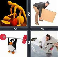 4 Pics 1 Word Levels Lift