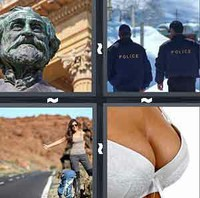 4 Pics 1 Word Levels Bust