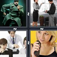 4 Pics 1 Word Dictate