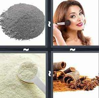 4 Pics 1 Word Powder