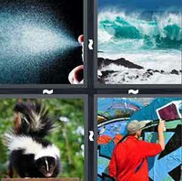 4 Pics 1 Word Levels Spray