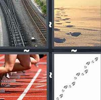 4 Pics 1 Word Levels Track