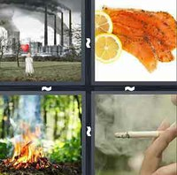 4 Pics 1 Word Levels Smoke