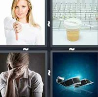 4 Pics 1 Word Negative