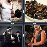 4 Pics 1 Word Muscle