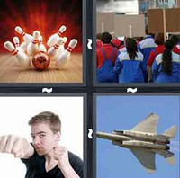 4 Pics 1 Word Strike