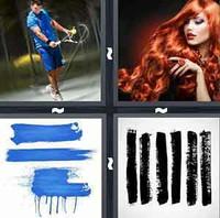 4 Pics 1 Word Stroke