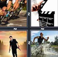 4 Pics 1 Word Action