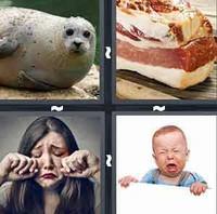 4 Pics 1 Word Blubber