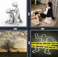 4 Pics 1 Word Murder