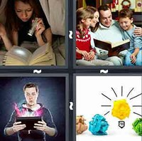 4 Pics 1 Word Novel