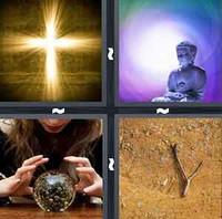 4 Pics 1 Word Divine