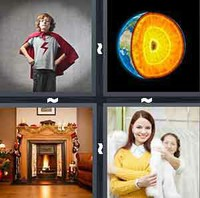 4 Pics 1 Word Mantle