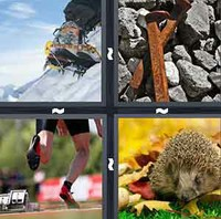 4 Pics 1 Word Levels Spikes