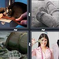 4 Pics 1 Word Levels Sewer