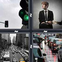 4 Pics 1 Word Traffic