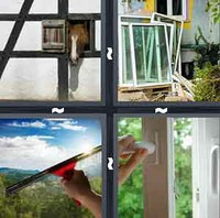 4 Pics 1 Word Levels Window