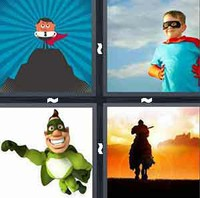 4 Pics 1 Word Levels Hero