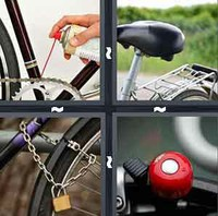 4 Pics 1 Word Bicycle
