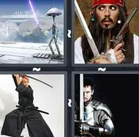 4 Pics 1 Word Levels Sword