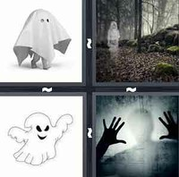 4 Pics 1 Word Levels Ghost