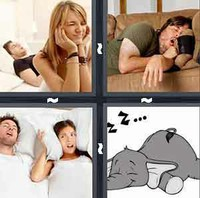 4 Pics 1 Word Levels Snore