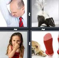 4 Pics 1 Word Levels Stink