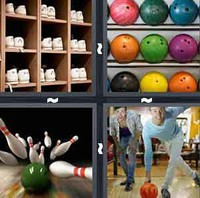 4 Pics 1 Word Levels Bowling