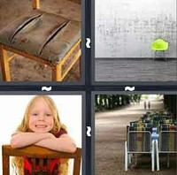 4 Pics 1 Word Levels Chair
