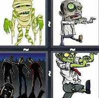 4 Pics 1 Word Levels Zombie