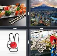 4 Pics 1 Word Levels Japan