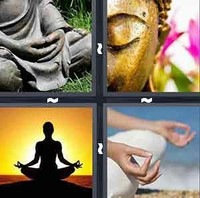 4 Pics 1 Word Meditate