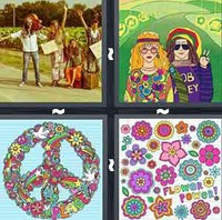 4 Pics 1 Word Levels Hippie