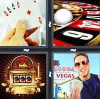 4 Pics 1 Word Gambling