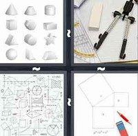 4 Pics 1 Word Geometry