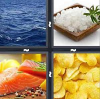 4 Pics 1 Word Levels Salty