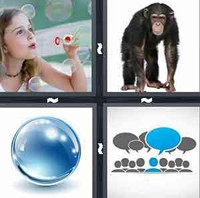 4 Pics 1 Word Bubble