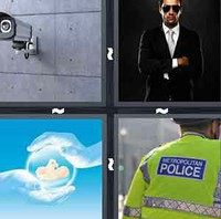 4 Pics 1 Word Security