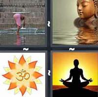 4 Pics 1 Word Nirvana