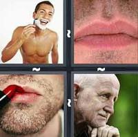 4 Pics 1 Word Levels Stubble
